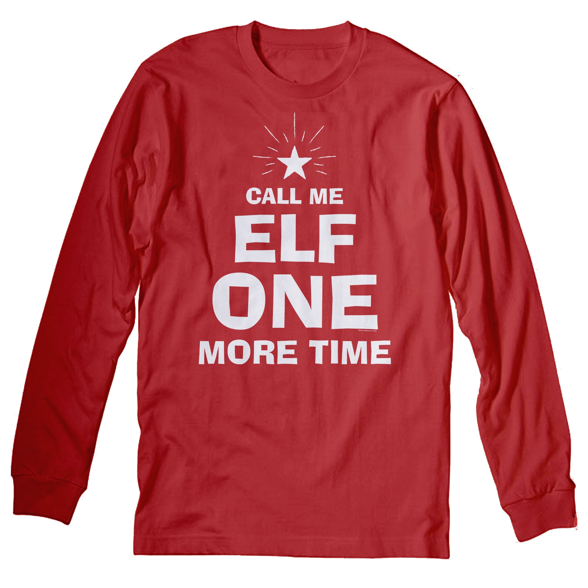 Call Me Elf - Christmas Long Sleeve Shirt
