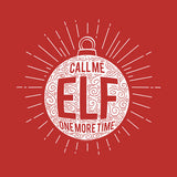 Call Me Elf - Christmas T-shirt