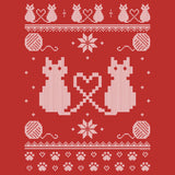 Cat Sweater - Christmas T-shirt