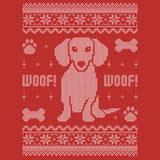 Dachshund Sweater - Christmas T-shirt