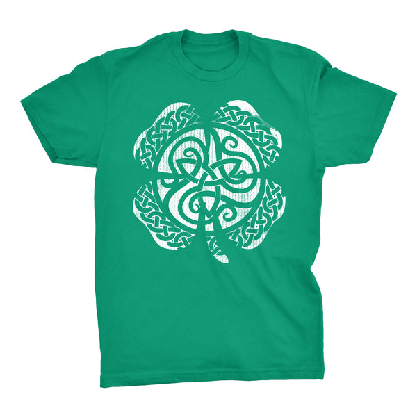 Distressed Clover Shamrock - 001