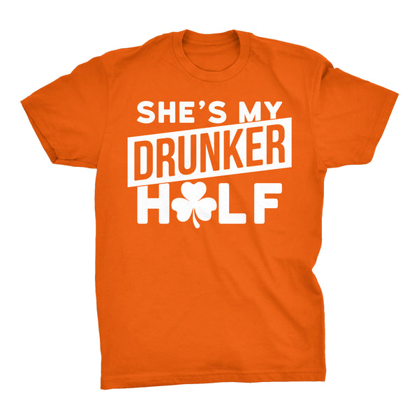 She's My DRUNKER Half - 004 - Irish T-shirt