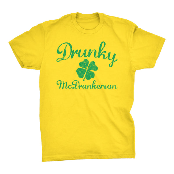 Drunky McDrunkerson - Funny Irish Drinking T-shirt
