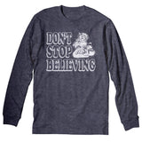 Don't Stop Believing - Christmas Long Sleeve Shirt