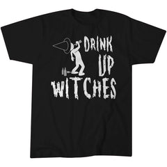 Drink Up Witches - Funny Halloween Costume T-shirt - 001