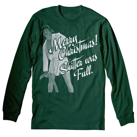 Merry Christmas Shitter Was Full - Cousin Eddie-Long Sleeve