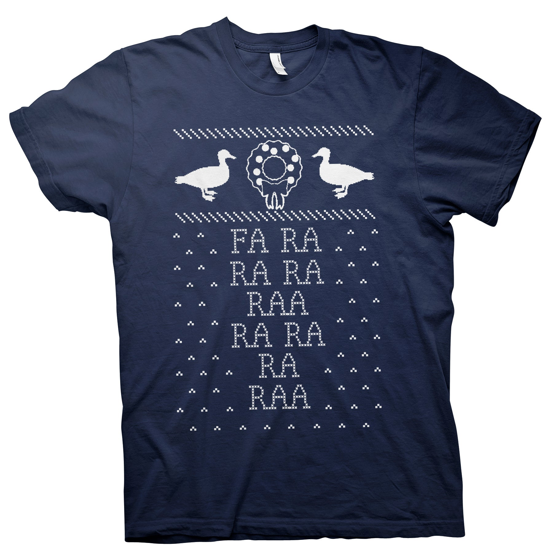"Fa Ra Ra Ra Ra - Funny ""Deck The Halls"" - Christmas-T-Shirt"