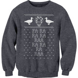 "Fa Ra Ra Ra Ra - Funny ""Deck The Halls"" - Christmas-Sweat Shirt"