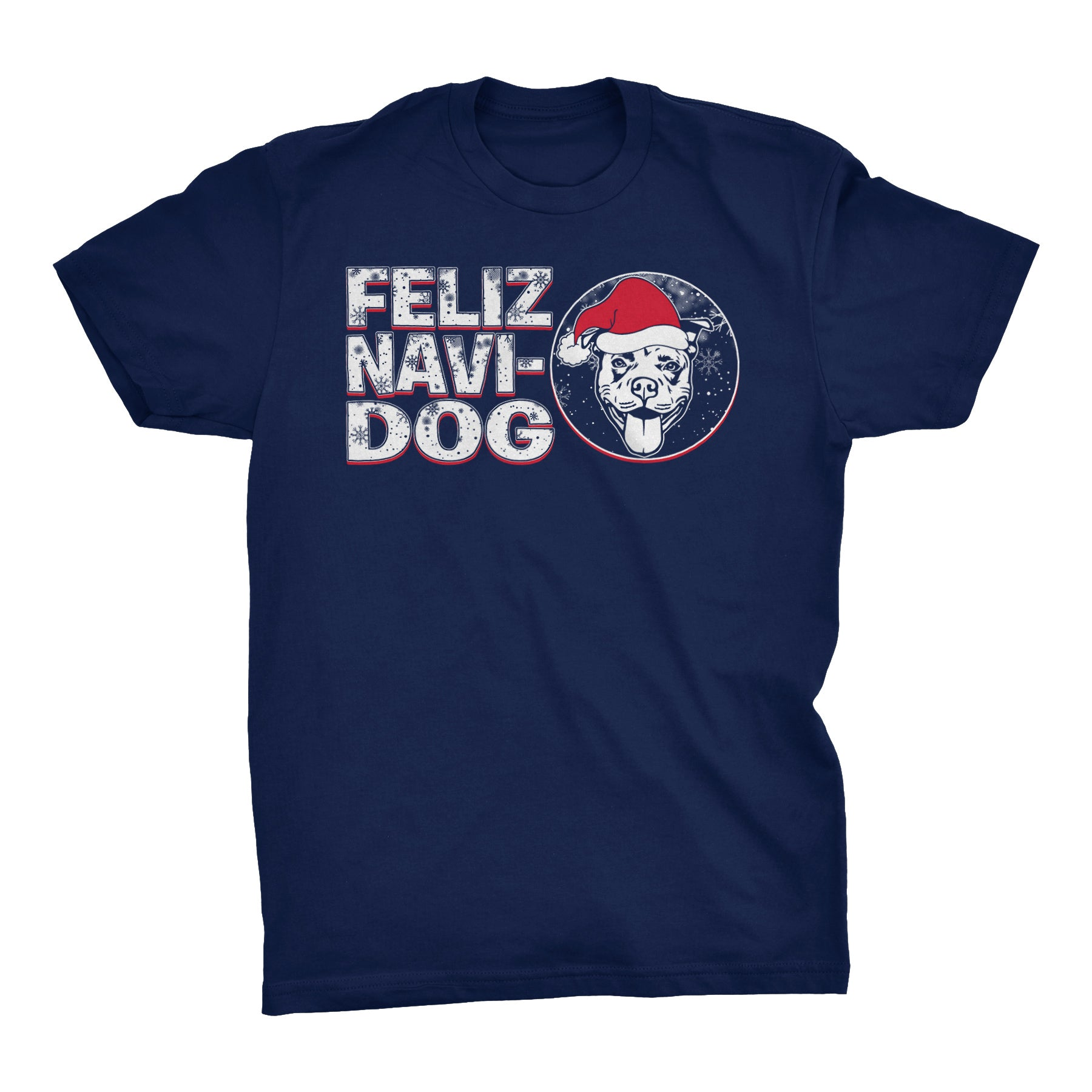 Feliz Navi Dog 002 - Christmas T-shirt