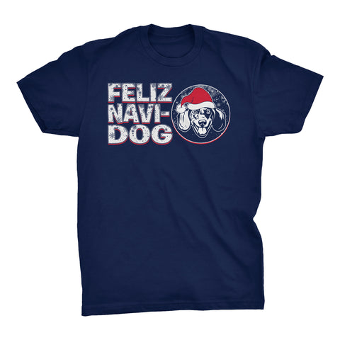 Feliz Navi Dog 003 - Christmas T-shirt
