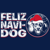 Feliz Navi Dog 003 - Christmas Long Sleeve Shirt
