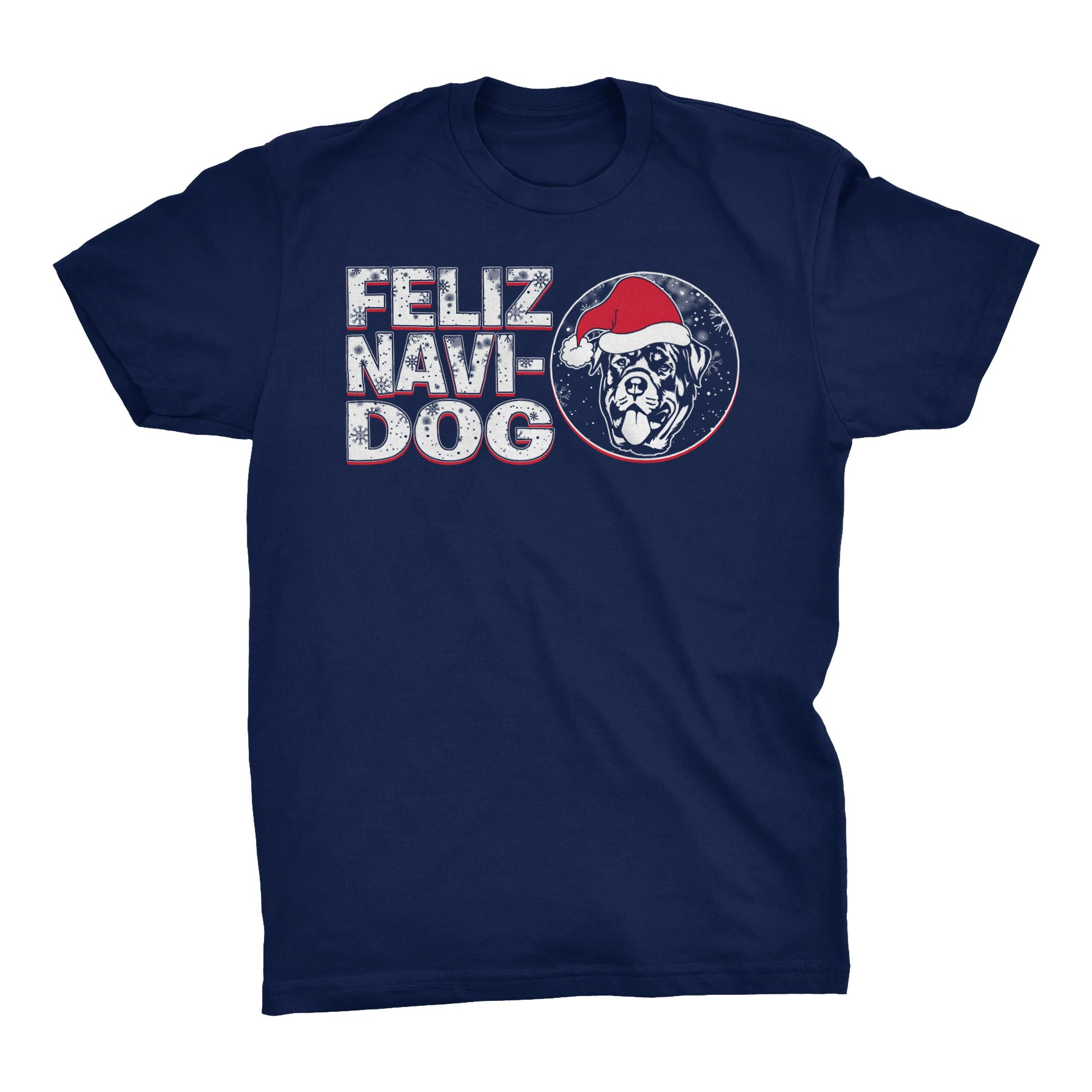 Feliz Navi Dog 004 - Christmas T-shirt