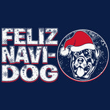 Feliz Navi Dog 004 - Christmas Long Sleeve Shirt