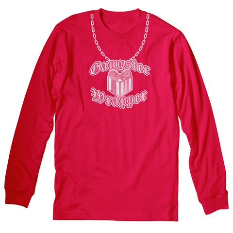 Gangster Wrapper - Christmas Long Sleeve Shirt