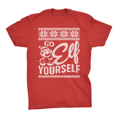 Go Elf Yourself - Christmas T-shirt