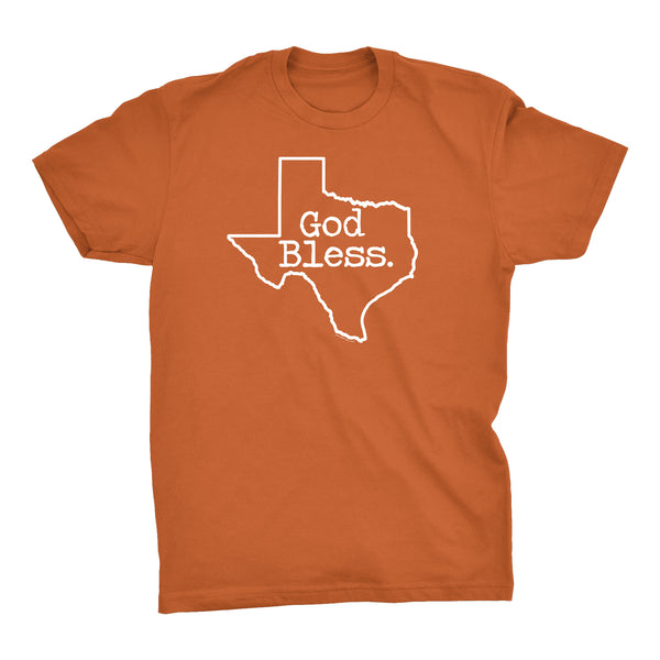 ShirtInvaders God Bless TEXAS - Proud Texan T-shirt