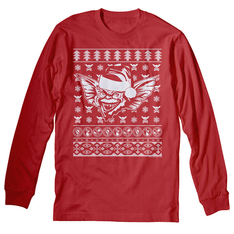 Gremlins - Christmas Long Sleeve Shirt