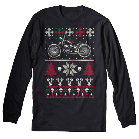 GearHead Biker - Christmas Long Sleeve Shirt