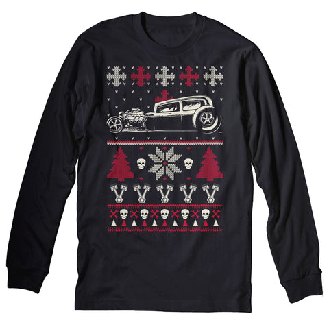 GearHead Car - Christmas Long Sleeve Shirt
