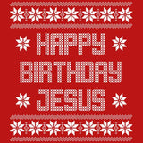 Happy Birthday Jesus - Christmas T-shirt