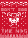 Hog The Nog - Christmas T-shirt
