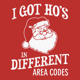 I Got HO's - Christmas T-shirt