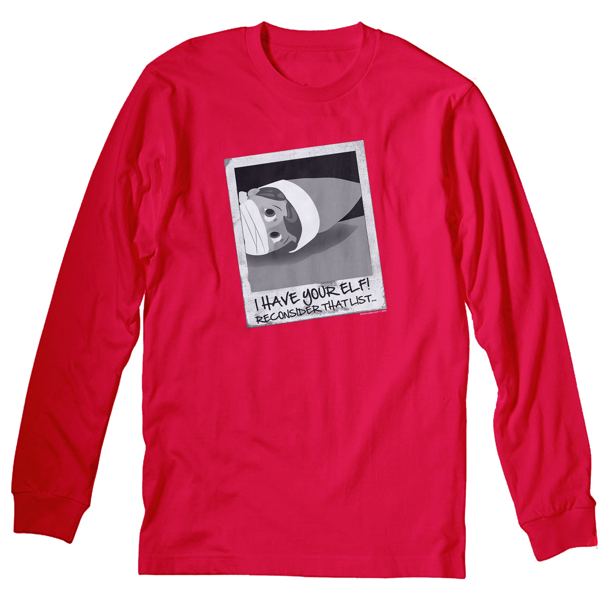 I Have Your Elf - Christmas Long Sleeve Shirt