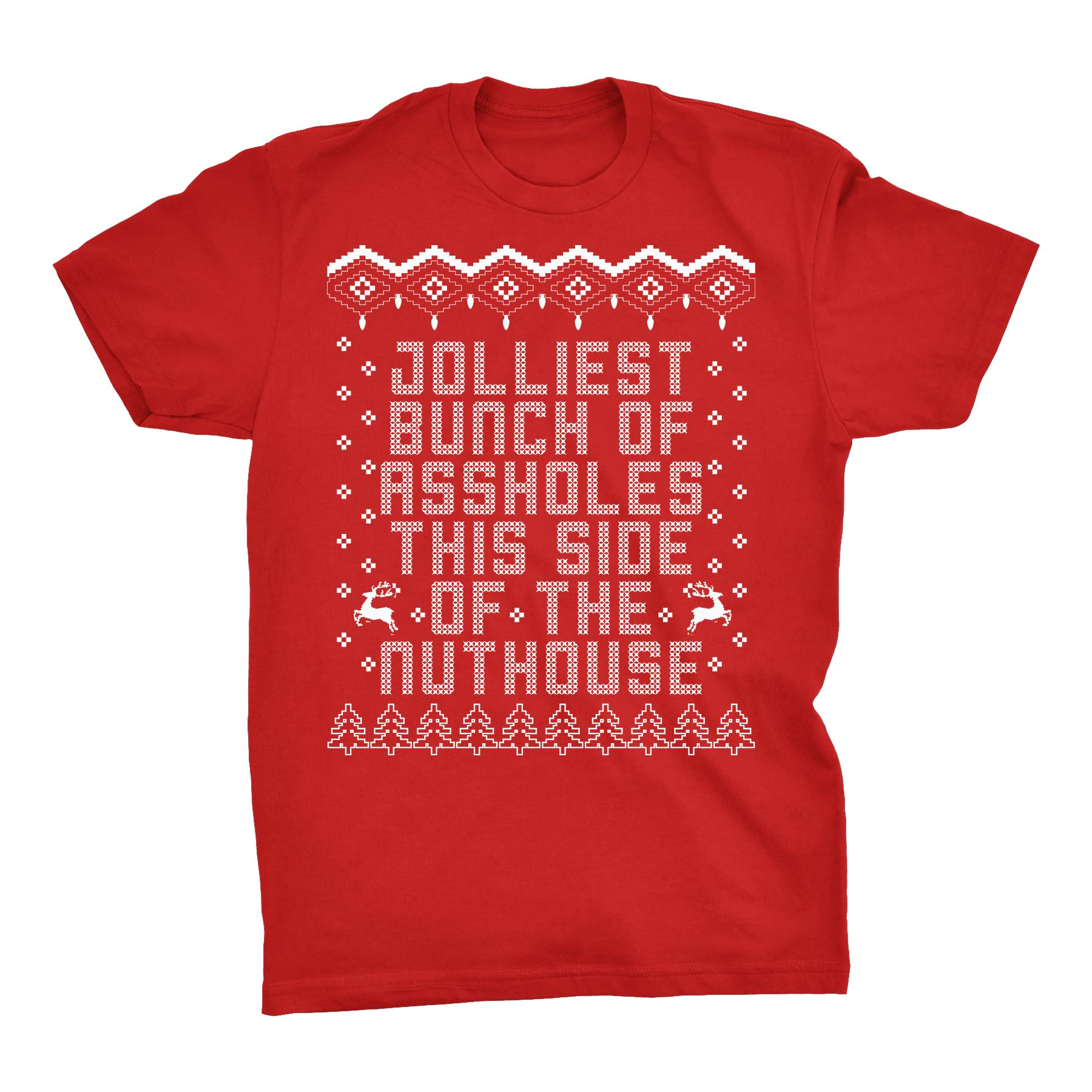 Jolliest Bunch - Christmas T-shirt