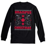Krampus Christmas - Ugly Christmas Sweater Party Style-Long Sleeve