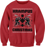 Krampus Christmas - Ugly Christmas Sweater Party Style-Sweat Shirt