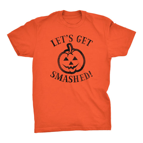 Let's Get Smashed - Funny Beer Alcohol Drinking Halloween Costume T-shirt