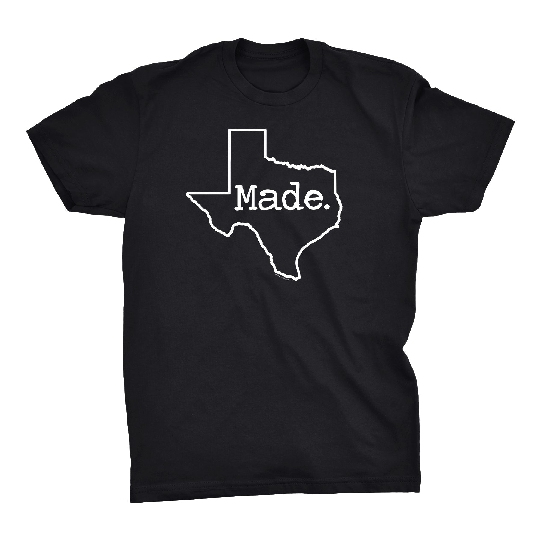 ShirtInvaders TEXAS MADE - 001 - Proud Texan Lonstar State T-shirt