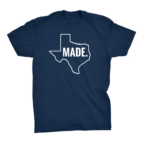 ShirtInvaders TEXAS MADE - 002 - Proud Texan Lonstar State T-shirt