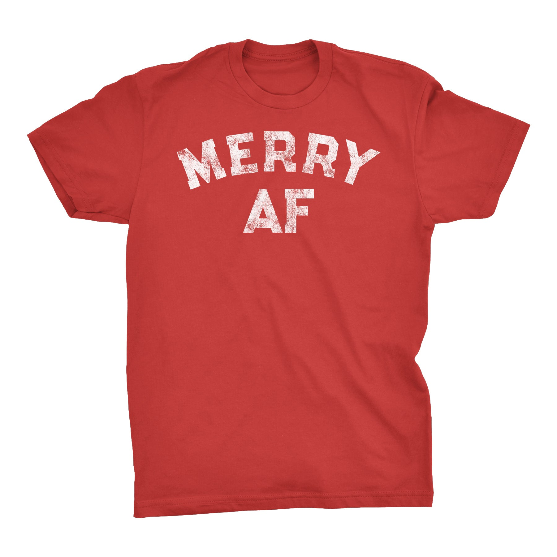 Merry AF 002 - Christmas T-shirt
