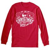 Ho Ho Ho Merry Fucking Christmas - Funny Holiday-Long Sleeve