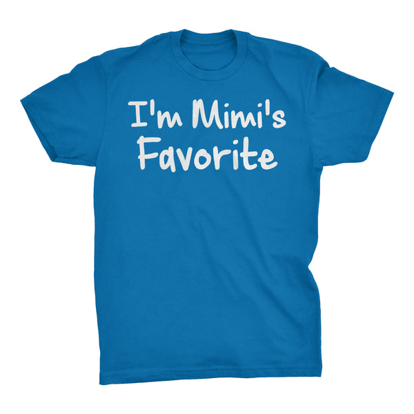Im MIMI'S Favorite - Mother's Day Grandmother T-shirt
