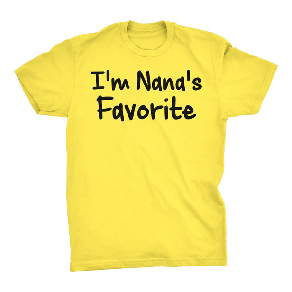 Im NANA'S Favorite - Mother's Day Grandmother T-shirt