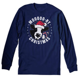 Moo-Ry Christmas - Christmas Long Sleeve Shirt
