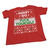 Merry Go Fuck Yourself - Christmas T-shirt