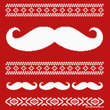 Mustache Sweater - Christmas T-shirt