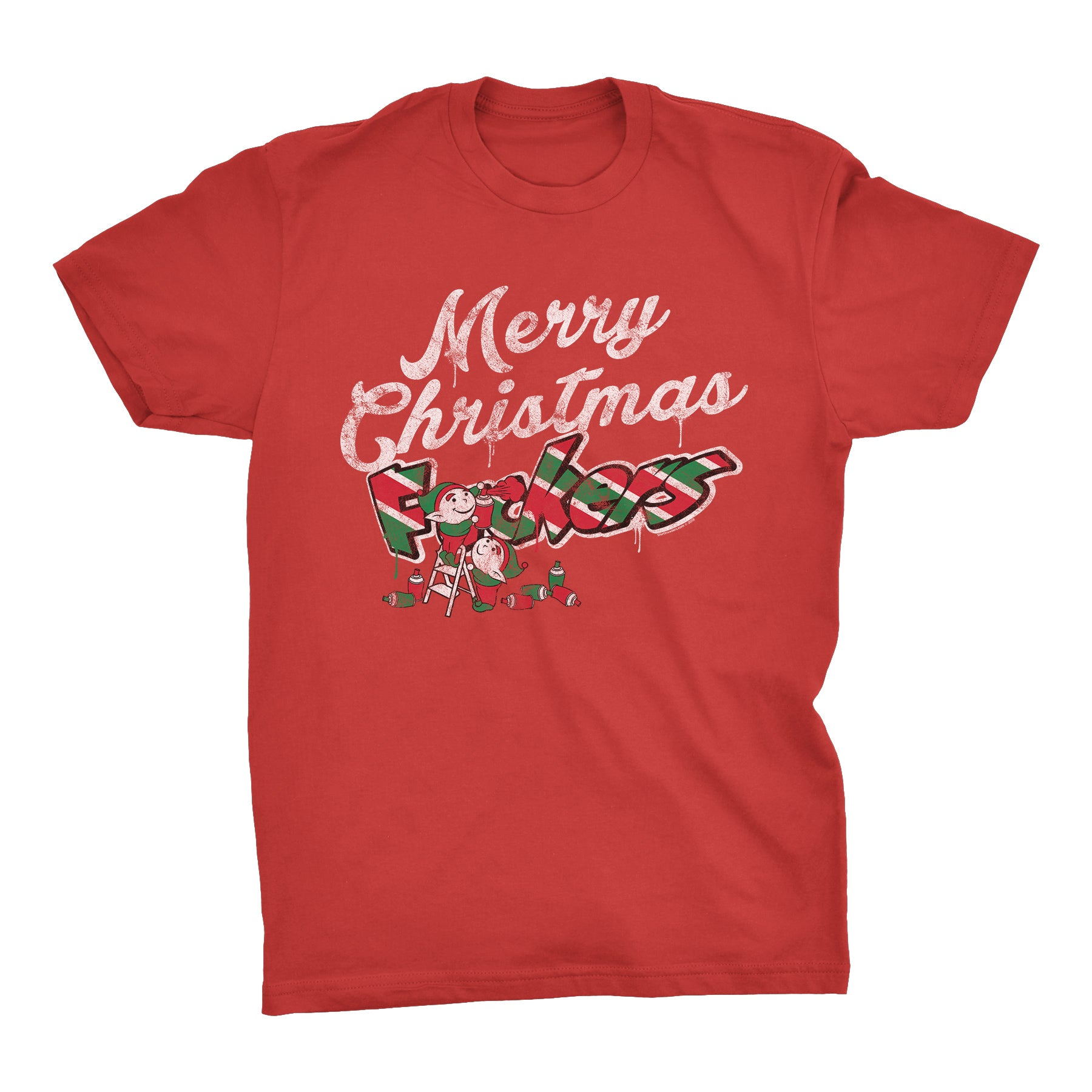 Naughty Elves - Christmas T-shirt