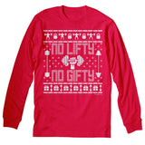 No Lifty No Gifty - Christmas Long Sleeve Shirt
