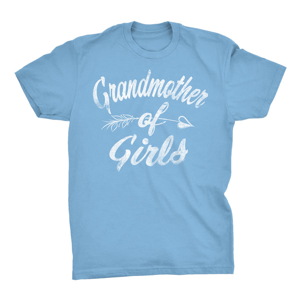 GRANDMOTHER Of Girls - Mother's Day Granddaughter T-shirt