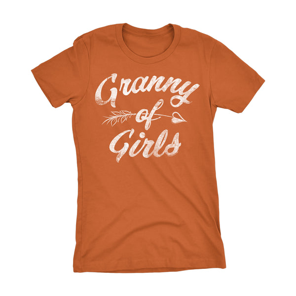 GRANNY Of Girls - Mother's Day Grandmother Ladies Fit T-shirt