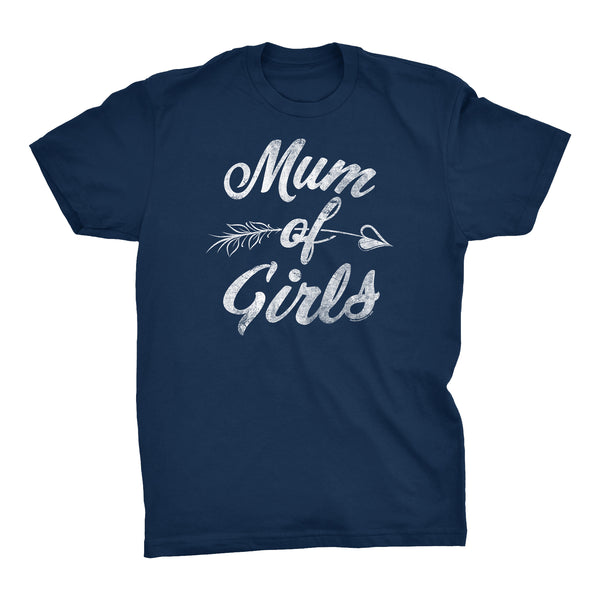 MUM Of Girls - Mother's Day Granddaughter T-shirt