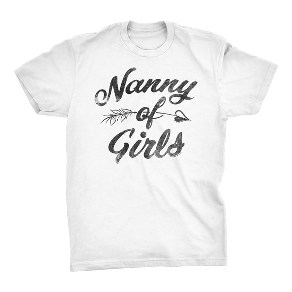 NANNY Of Girls - Mother's Day Granddaughter T-shirt