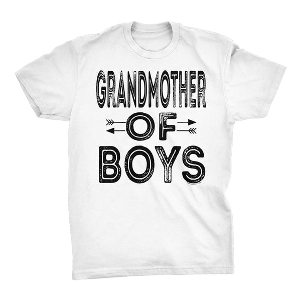 GRANDMOTHER Of Boys - Mother's Day Grandson T-shirt