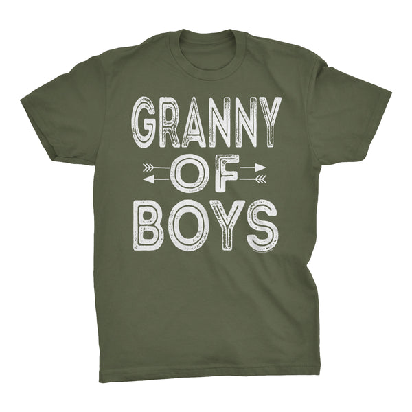 GRANNY Of Boys - Mother's Day Grandson T-shirt