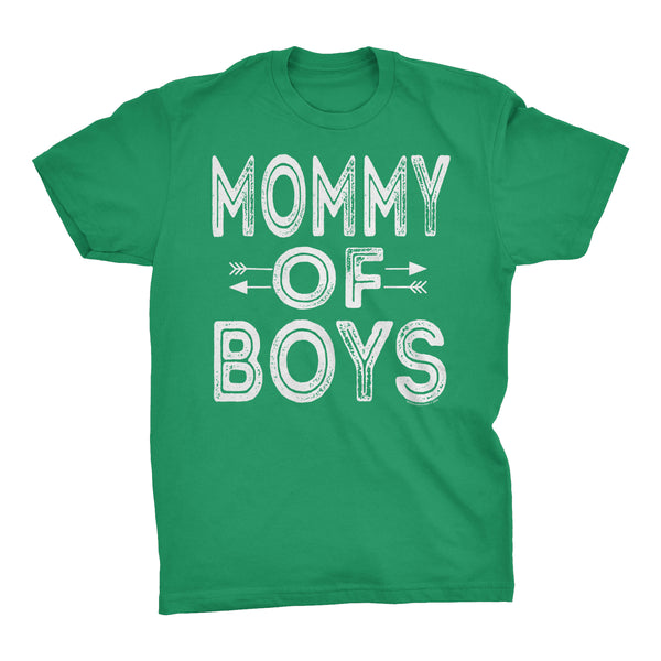 MOMMY Of Boys - Mother's Day Mom Son T-shirt