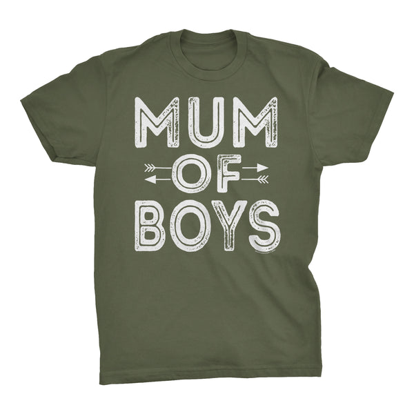 MUM Of Boys - Mother's Day Grandson T-shirt